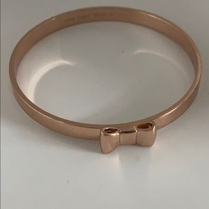 Rose gold Kate Spade Bow Bangle!